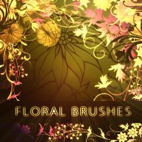 Floral Brushes - brushes set by solenero73