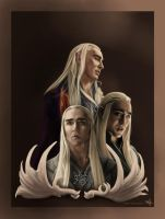 Thranduil - the Elvenking by murrl