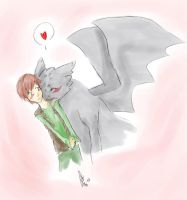 HTTYD: Love you Hiccup by yuminica