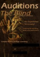 Audition Poster The Blind by ForgetDeny