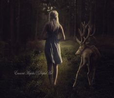In the deep forest by DiosaEMR
