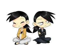 Chibi Ling and Greeling by ANZU-0