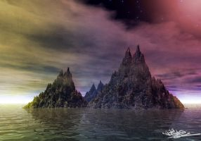 Solitary Mountains by xHaStex