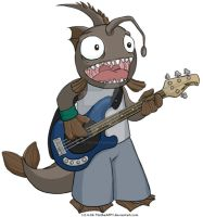 Monkfish bassist by TtotheAFFY