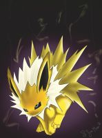 Jolteon by Shadowfoxmoon