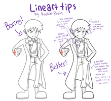 Robin's Lineart Tips by rockinrobin