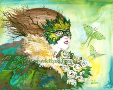 Dryad Masque by felixxkatt