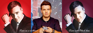 Liam with Different Hair Colours by iluvlouis