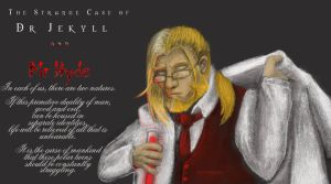 Dr Jekyll and Mr Hohenhyde by mllebienvenu