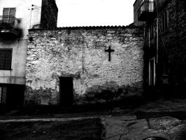 Black and white church by tomaplaw