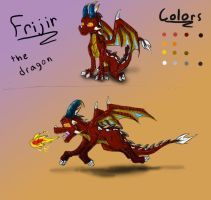 Frijir Gift-Ref for ShaloneSk by EternalDragoness