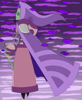 IZ headcanon Tallest Purple: Sorrowful Elegance by ReneesInnerIrken