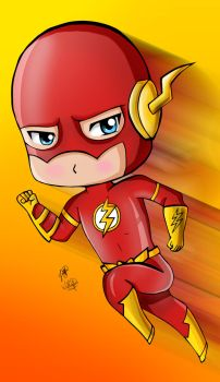 Flash Chibi by Tonvick