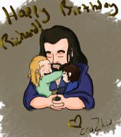 Happy Birthday Thorin! by LilBeeQueen