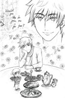 An Evening Tea With Arthur~ by hananoyuuki