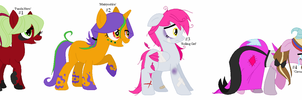 Vocaloid Songs Themed Ponys Adopts Part 1-CLOSED- by Psycho-CandyAddicted