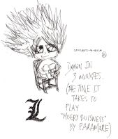Chibi L Lawliet by smileys-4-eva
