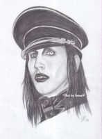 Marilyn Manson by SessaV