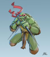 Raph Colored v2 by Chadwick-J-Coleman