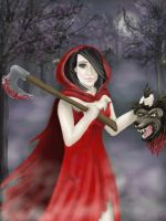 Not So Little Red Riding Hood by goodgirl-arcee