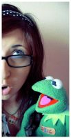 look kermit. by cherrysuicide