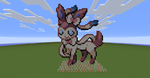 ~~Sylveon~~ Pixel art by InkBlot2014