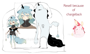 [CLOSED] Resell Adopt because of chargeback by Piffi-adoptables