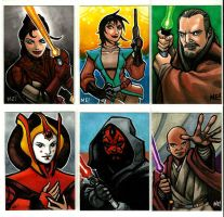 More Star Wars commissions by MasonEasley