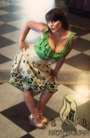 Pin-Up: Samantha B. Five by Miss-Sparkles