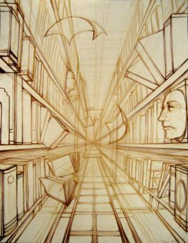 The Library by StrawberryFungus