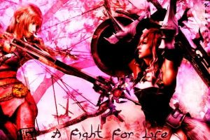 A Fight for Life by LightningF