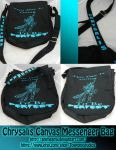Chrysalis Messenger Bag by AnimeAmy