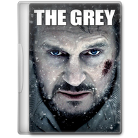 The Grey (2011) Movie DVD Icon by A-Jaded-Smithy