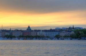 Kungsholmen at Sunset III by HenrikSundholm