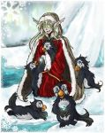 Happy Holidays with PENGUINS by jehzavere