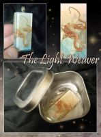 Glass Pendant - Light Weaver by neondragon