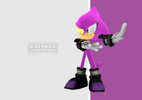 Espio (Channel style) by eggmanteen