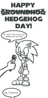 Happy Hedgehog Day 8D by sendoki