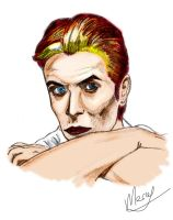 Bowie -Color- by Marsaliath