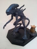 ALIEN Xenomorph (Sculpey statue) by LewisMoss