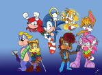 Classic Sonic Freedom Fighters by Ochan32