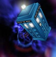 The TARDIS by Samsonator