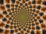Golden Ratio Tiling by DinkydauSet