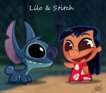 50 Chibis Disney : Lilo and Stitch by princekido