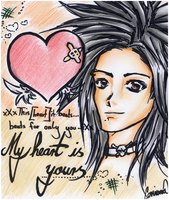 :: My heart is yours. by Monsunwind