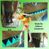 Vocaloid Gumi Belt by CupcakeCrafty