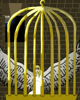 I know why the caged bird sings by higurashilover123