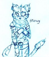 Snowy Tiger by FuneralDyingheart