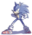 Sonic Boom :sketch: by Blue-Chica