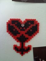 Heartless Perler by devilmonkey16